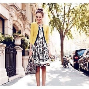 Kate Spade Havana Nights Cotton Dress. Size 0.